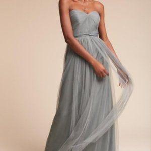 Jenny Yoo Annabelle Dress in Mayan Blue Size 4